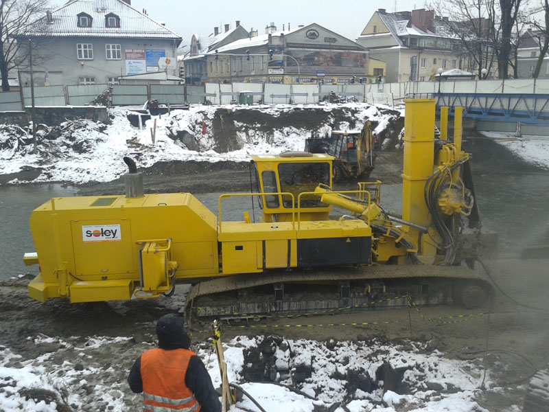 Trench Mixing